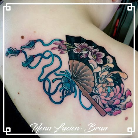 tatouage floral toulouse