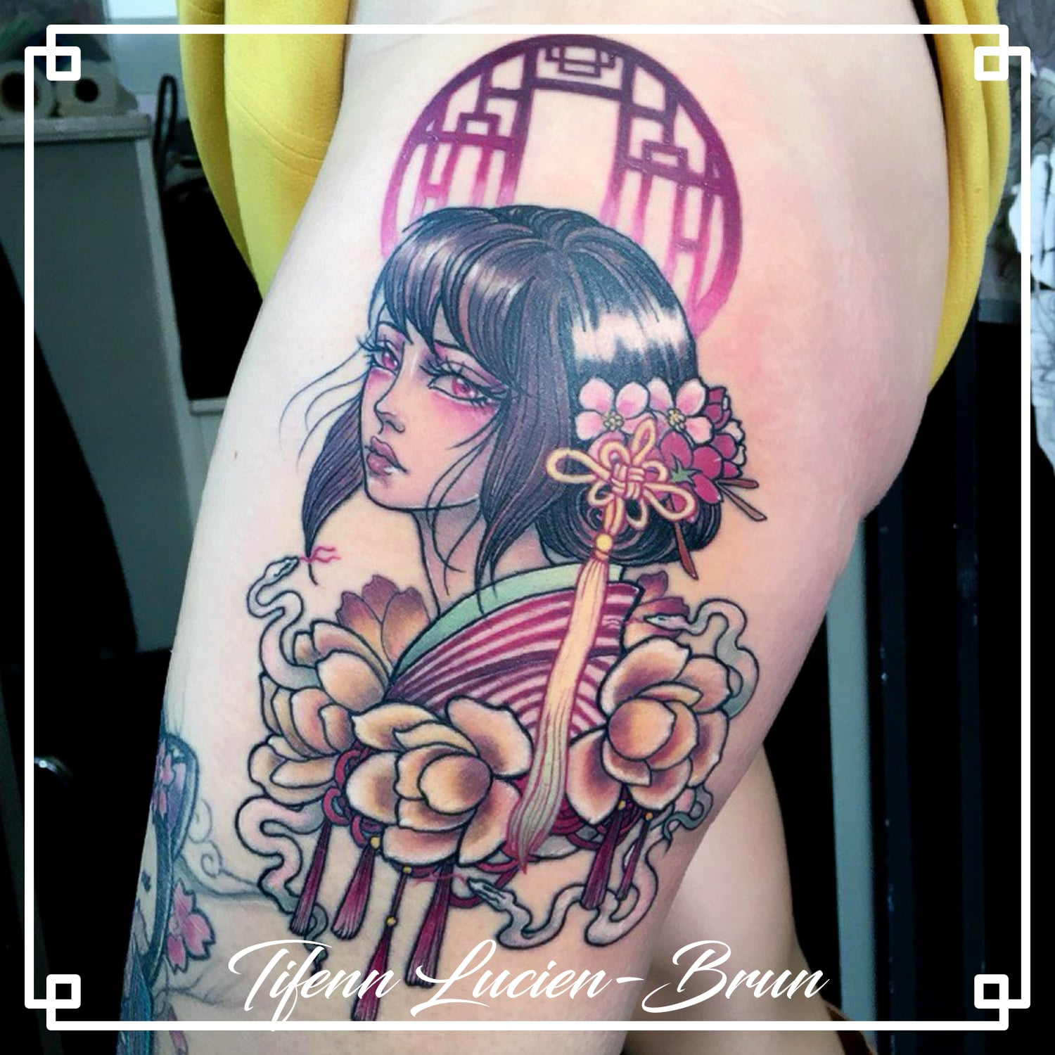 tatouage manga toulouse